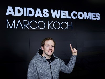 World Champion Swimmer, Marco Koch, Becomes the Latest Athlete to Join adidas Swim