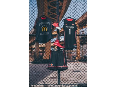 adidas McDonald's All American Games Girl's Uniforms 2