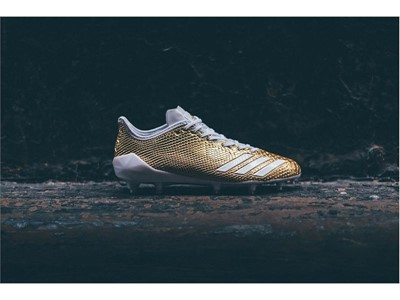 "adidas Football adizero 5-Star 6.0 ""Gold Pack"" White 2"