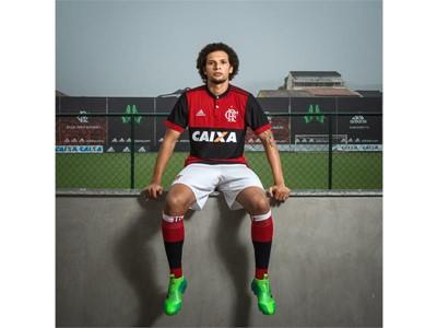 Flamengo Home Jersey 02