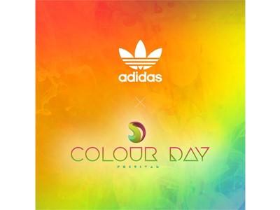 Τα adidas Originals δίνουν το δικό τους χρώμα στο Colour Day Festival