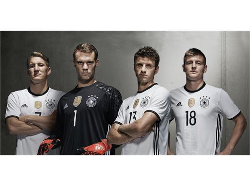 Germany home kit for UEFA EURO 2016™