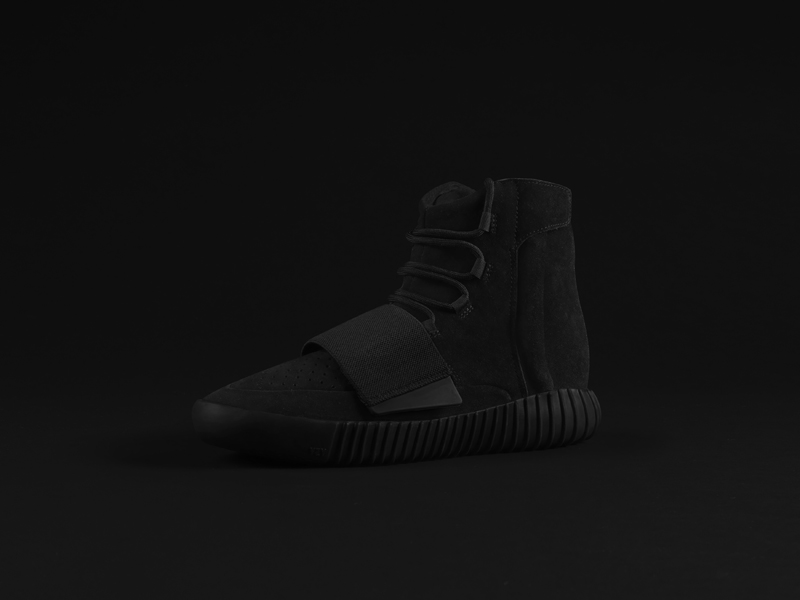 adidas YEEZY BOOST 750 Black 7