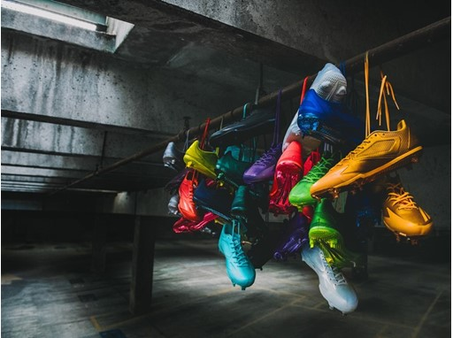 "adizero Afterburner ""Dipped"" Cleat Collection 1"