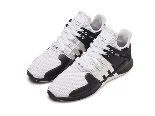 adidas EQT Boost 91/16 White/Turbo Red Drops Next Week Yeezys