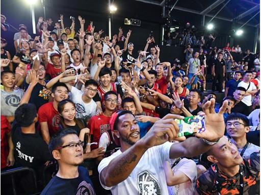adidas Derrick Rose Take On Summer Tour China 17