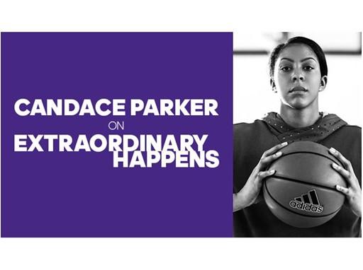 Extraordinary Happens Episode Art Candace Parker