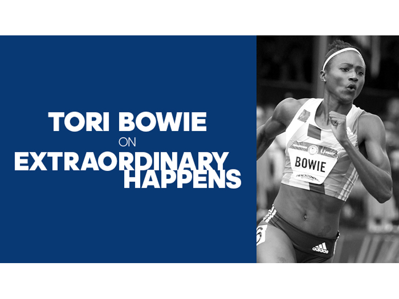 Extraordinary Happens - Episode Art Tori Bowie