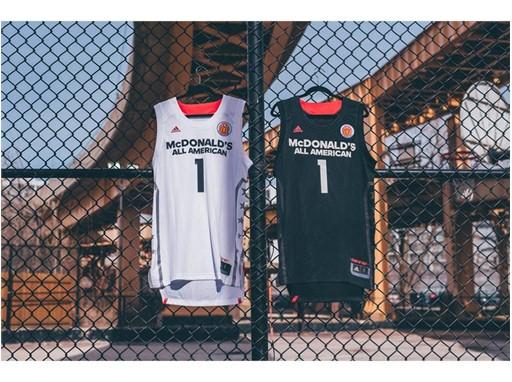 adidas McDonald's All American Games Boys Uniform 5
