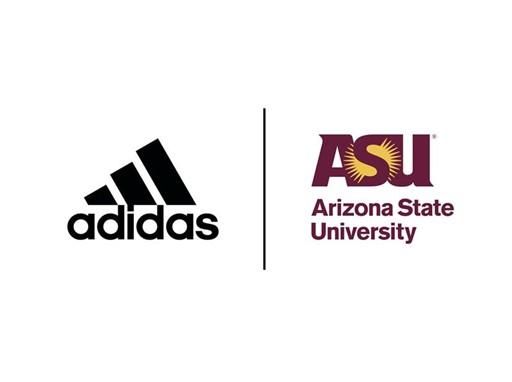 adidas and ASU GSA Logo Lock-Up
