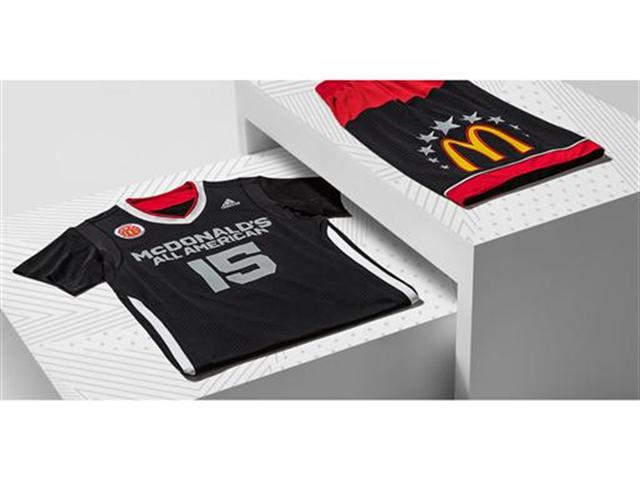 adidas and McDonalds All American Games Uniform