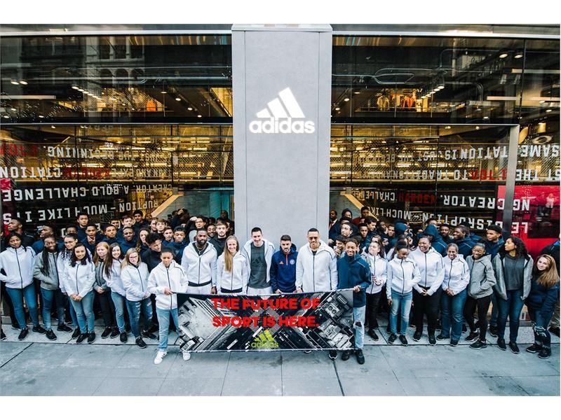 Adidas News Stream Adidas Celebrates Sport At Nyc