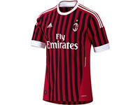 adidas presents the new AC Milan jersey for the 2011&#47;12 season