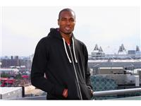 Oklahoma City Thunder and Spanish National Team Player Serge Ibaka Visits the adidas Media Lounge