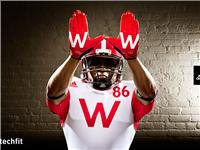 adidas Wisconsin Unrivaled Uniform GLOVES