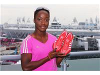 Kelly-Ann Baptiste with the adidas Prime Knit (2)