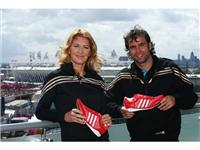 Steffi Graf with Fernando Gonzalez