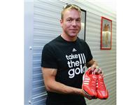Sir Chris Hoy with the adidas Prime Knit