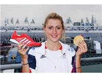 Laura Trott with the adidas Prime Knit (2)