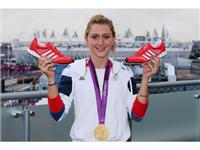 Laura Trott with the adidas Prime Knit