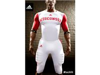 adidas Wisconsin Unrivaled Uniform Front