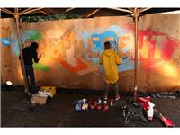 Klub 7 Crew live Painting 1