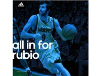 adidas anuncia su gran fichaje&#58; all in for Rubio