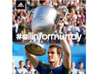 Andy Murray Queen's Champion for the Third Time