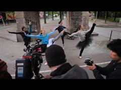 """all adidas"" Women's digital film - Behind the scenes imagery"