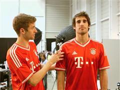 adidas und FC Bayern München präsentieren neues Heimtrikot
