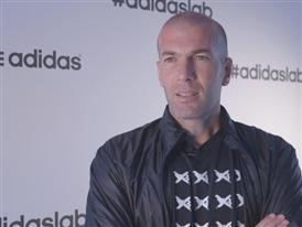 Zinedine Zidane at the adidas lab - Interview