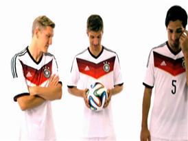 adidas Brazuca - DFB players