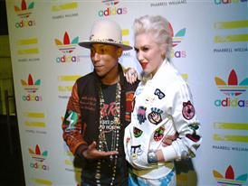 Pharrell Williams and adidas Celebrate Collaboration in LA