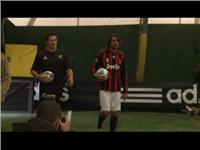 AC Milan Host the All Blacks  Rugby Team