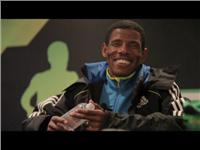 Haile Gebrselassie Addresses Media Before His First Ever New York Marathon