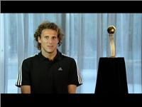 Diego Forlán - adidas Golden Ball Award Winner for best player at FIFA World Cup 2010