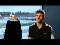 Thomas Müller - adidas Golden Boot Award Winner for top Goalscorer at FIFA World Cup™ 2010