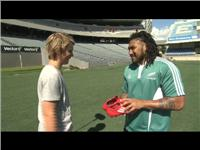 Ma'a Nonu to Take Kids Through Speed Drills Session