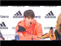 Leo Messi Caps Off an Unbelievable Week with FastReturn of his adizero F50 Prime Football Boots