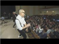 Adidas brings Hip-Hop group Far East Movement to a local high school for a concert