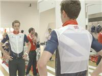 Brownlee Brothers go to adidas kitting out for London Olympics 2012 in Loughborough – B Roll GVs