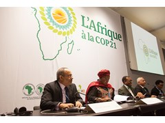 The Africa Pavilion at COP21 officially opens on a high note