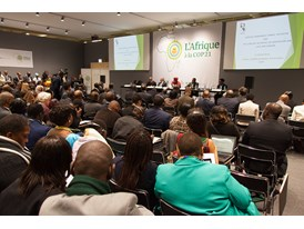 Africa Pavilion at COP21 Opening 9