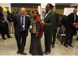 Africa Pavilion at COP21 Opening 12