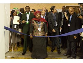 Africa Pavilion at COP21 Opening 13