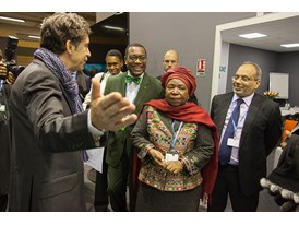 Africa Pavilion at COP21 Opening 17