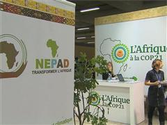 The African Pavilion at COP 21 – b-roll, general views and illustration shots