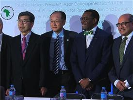 COP 21. Day 1 of Mr. Akinwumi Adesina, President of the African Development Bank Group at COP21.