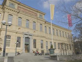 B-Roll of the Swedish National Library