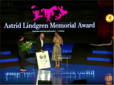 ALMA award: Hand-over of award from Swedish Crown Princess